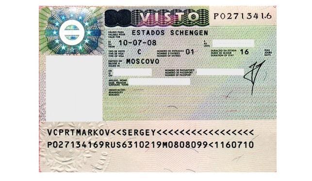Виза в лиссабон для россиян